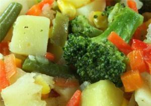 Отварные овощи при панкреатите