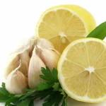 Чеснок,лимон и петрушка при панкреатите