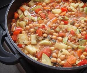 Рагу с овощами при панкреатите.