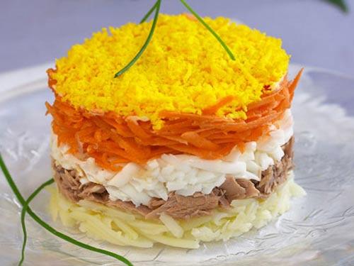 Рецепт диетического салата для поджелудочной железы.