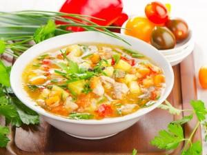 Как приготовить суп для поджелудочной железы.