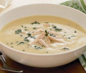 Как приготовить суп пюре с курицей.