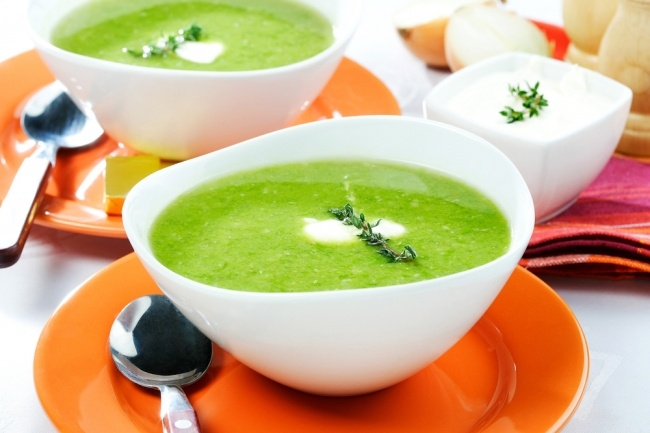 Как приготовить суп пюре из кабачков.
