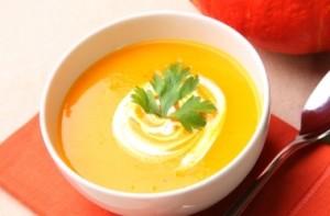 Как приготовить суп - пюре из тыквы.